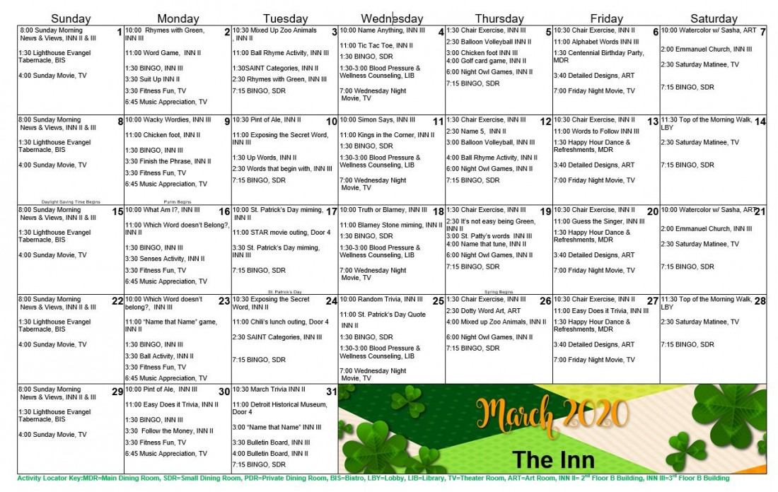 Assisted Living Facilities in Southfield, MI | Park at Franklin - MarchTheInnCalendar